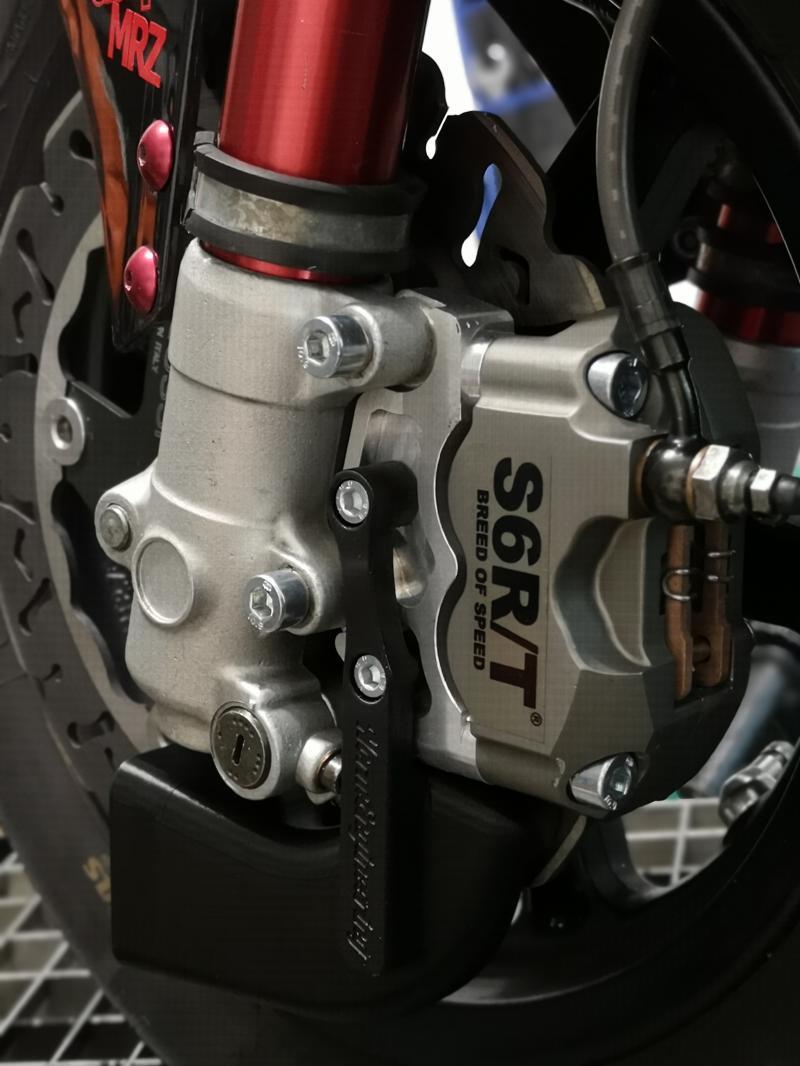Bremskühlung F32, 4K Bremssattel